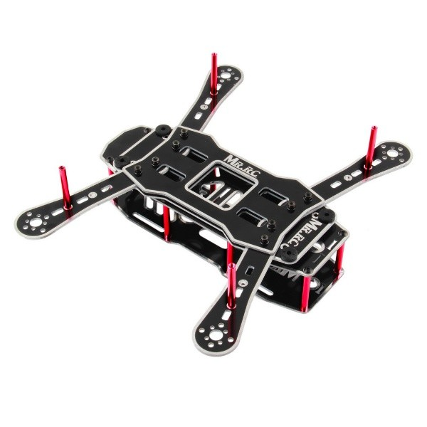 MR.RC 250 Mini FPV Race Quadcopter Frame Build Your Own Drone