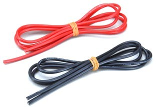 Silicone Wire 14 AWG 1M Red & Black