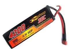Desire Power 3S LiPo Battery 4200 mAh 35C