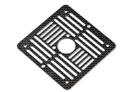 ArduCopter carrier plate v1.0 Carbon Fiber