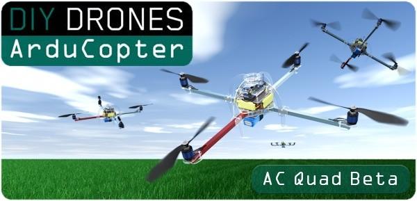 ArduCopter Quad v1.0 KIT (Frame+Motors)