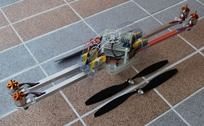 ArduCopter Quad v1.1 KIT, Full Electronics ARTF