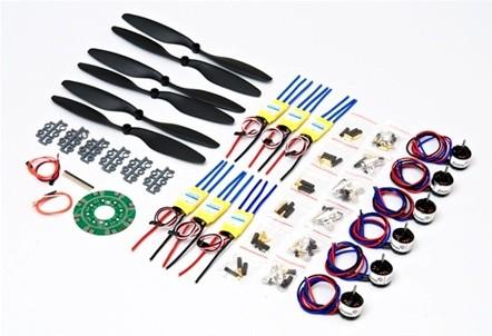 HexaCopter Full Motor & ESC Set 880Kv
