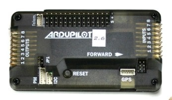 ArduPilot Mega 2.6 Side Entry