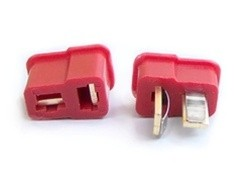 Dean Ultra Plug Connector Pair With Heat Shrink