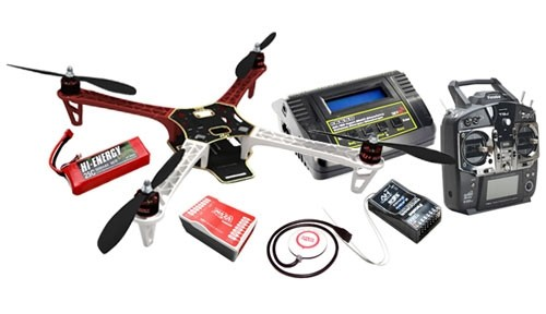 DJI F330 Flame Wheel Ready To Fly Quadcopter