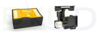 DJI Naza M V2 GPS + H3-2D Brushless Gimbal