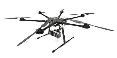 DJI S800 Spreading Wings HexaCopter