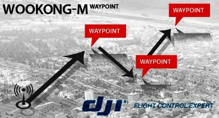DJI Wookong WKM 50 Way Point Upgrade
