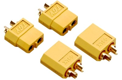 XT60 Connectors With Heat Shrink