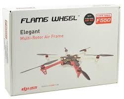 DJI Naza M Lite V1.1 GPS + F550 Flame Wheel E300 + Landing Legs