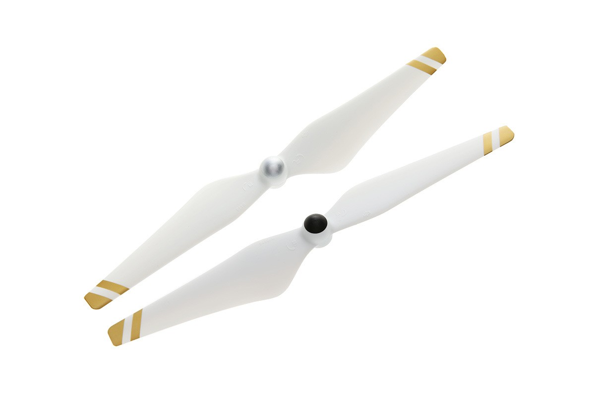 DJI 9450 Self-tightening Propellers Composite Hub White With Gold Stripes