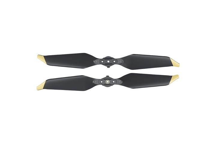 DJI Mavic Pro Low Noise Propellers Quick Release Gold