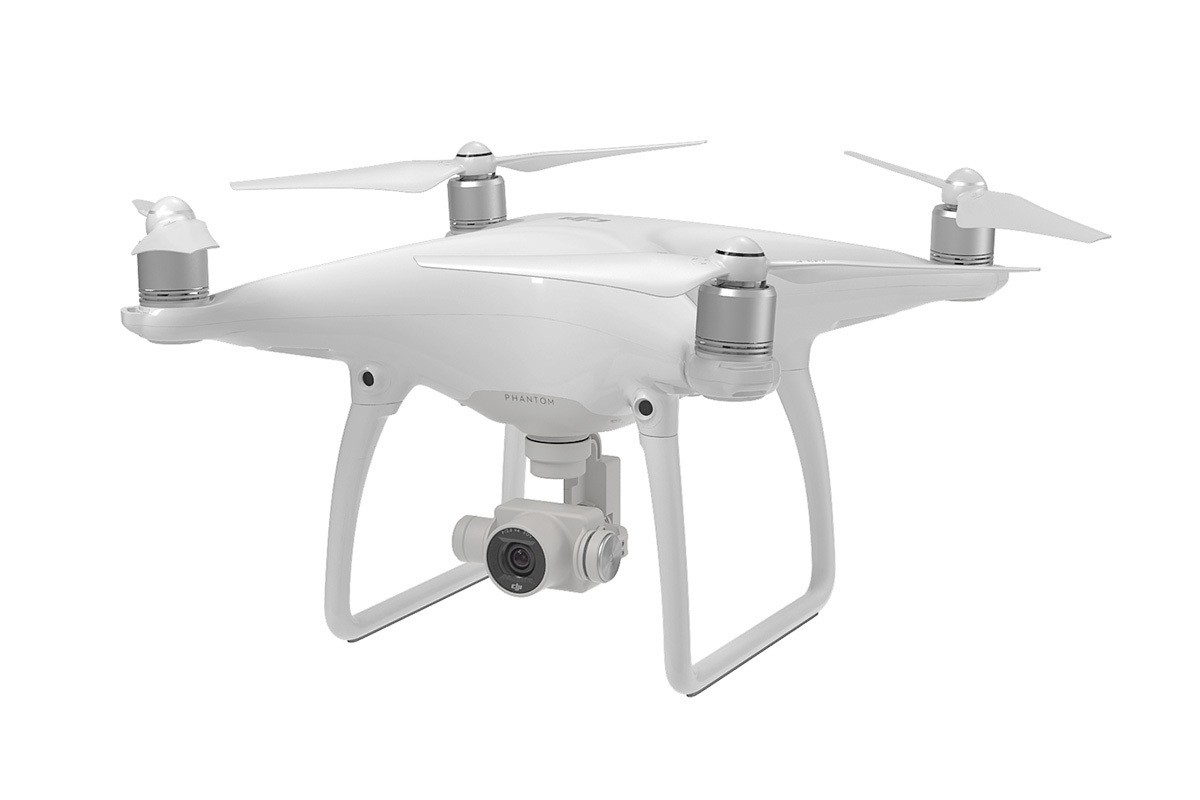 DJI Phantom 4 With Two Extra Batteries