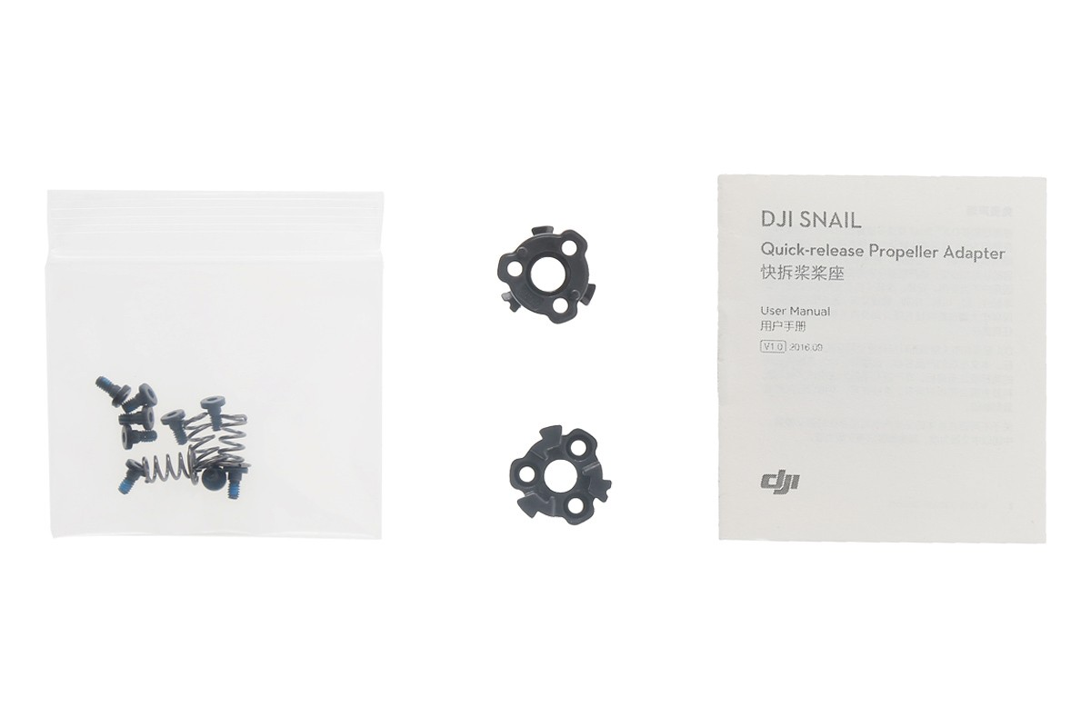 DJI Snail Quick Release Propeller Adapter - In The Box