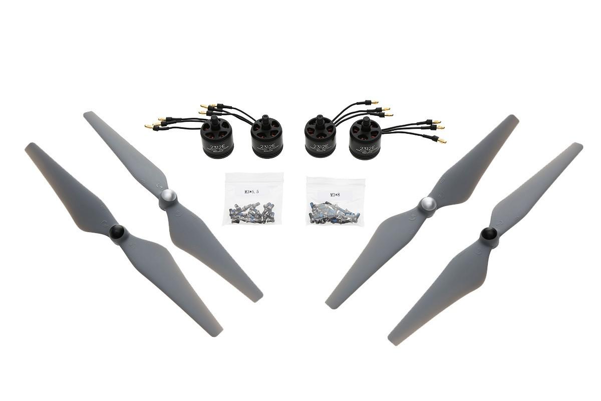 DJI E305 800KV 4S Kit 4 x Motor 2 x 9450 Props Kit
