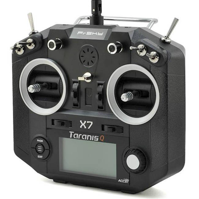 FrSky ACCST Taranis Q X7 2 4GHz 16 channel Radio Transmitter Black