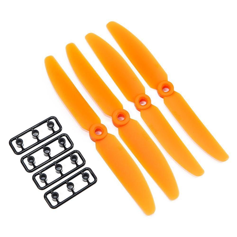 Gemfan 5x3 ABS Propeller Set of 4 Orange