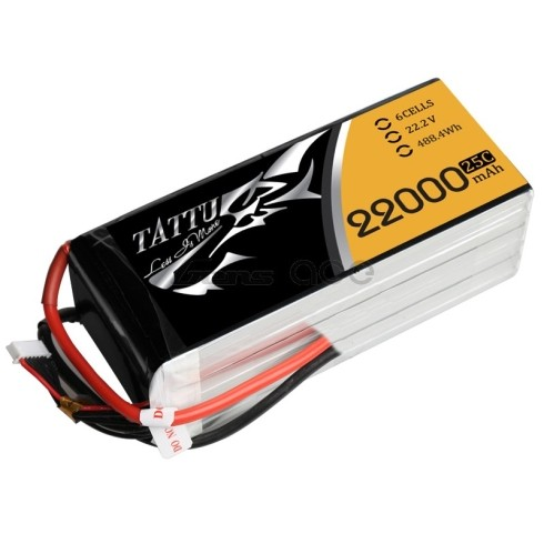 Gensace Tattu 6S 22000mAh 25C Lipo Battery