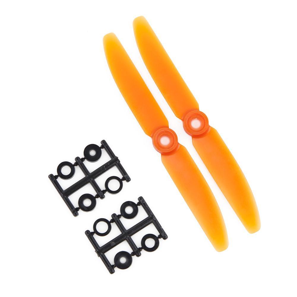 HQProp 5x3 CCW Propellers Orange