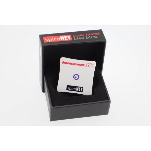 ImmersionRC SpiroNet 8dBi LHCP Mini Patch Box