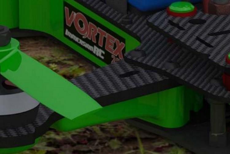 ImmersionRC Vortex 250 Pro Lime Green Plastic Parts Custom Kit
