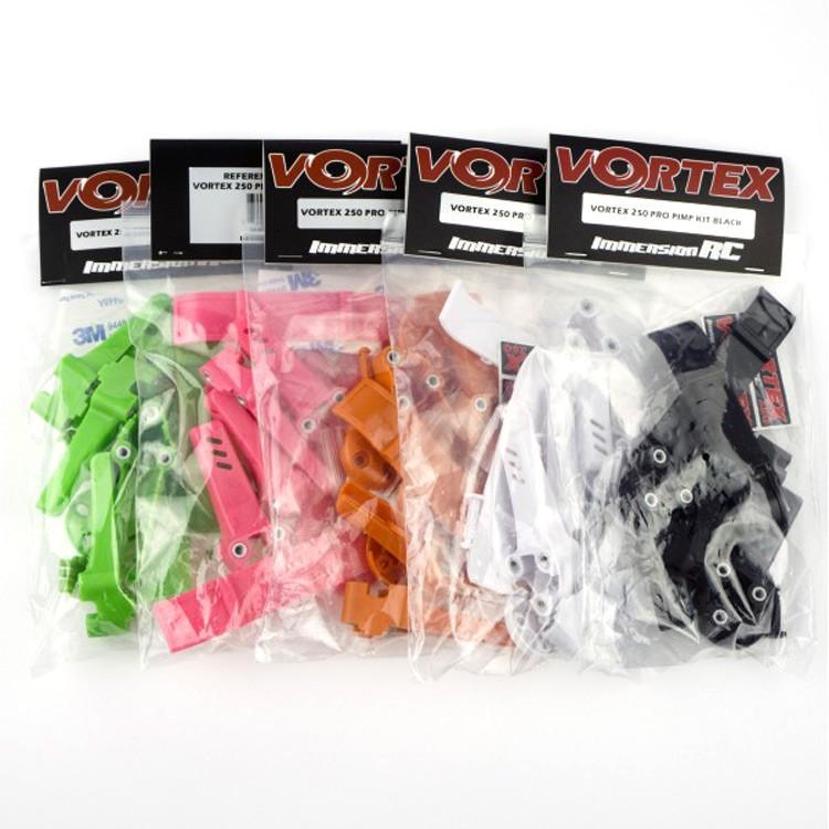 ImmersionRC Vortex 250 Pro Orange Plastic Parts Custom Pimp Kit