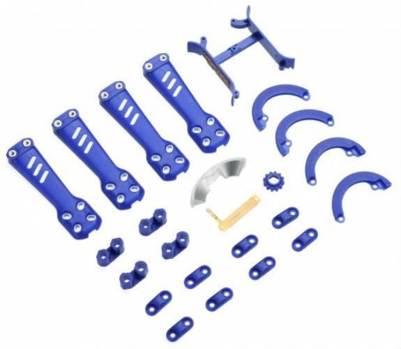 ImmersionRC Vortex 230 Mojo Blue Pimp Kit