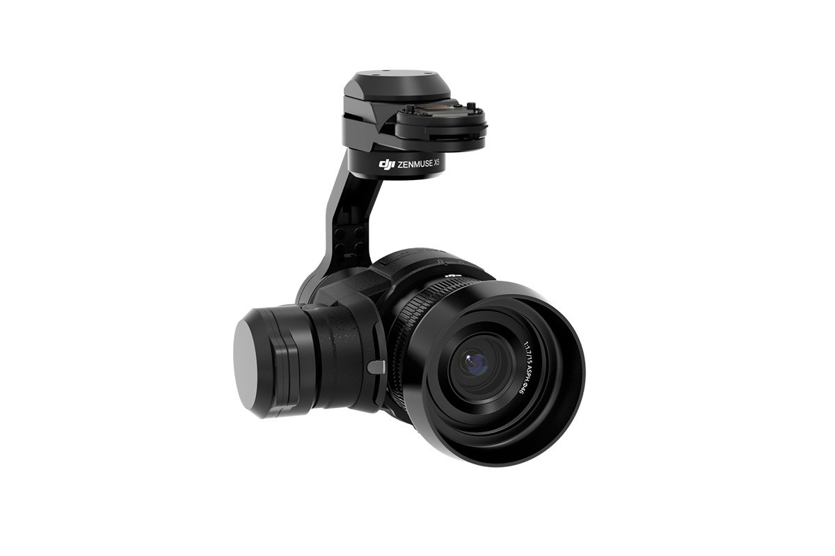 DJI Zenmuse X5 3 Axis Camera Gimbal With MTF 15mm 1.7f Lens