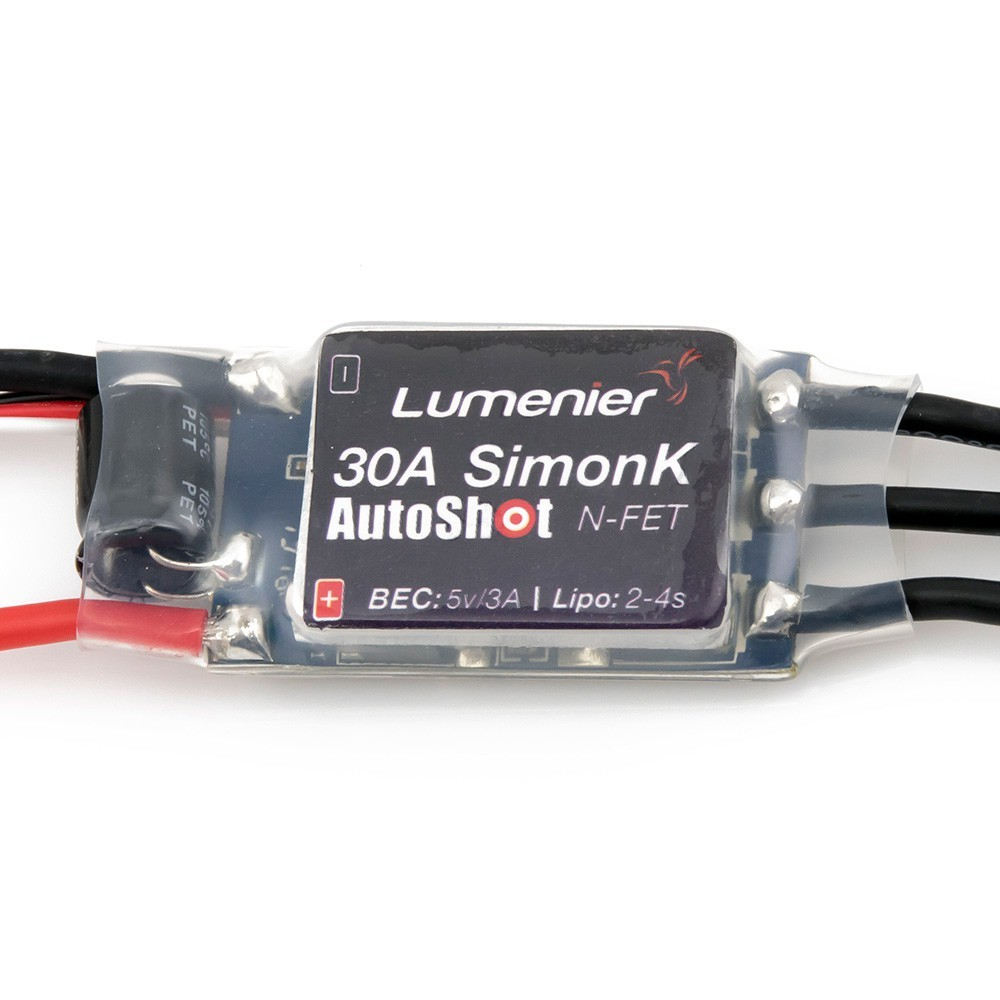 Lumenier 30 amp ESC SimonK AutoShot Firmware