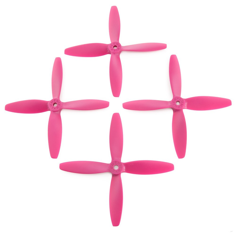 Lumenier 5x4x4 4 Blade Propeller Set Of 4 Purple