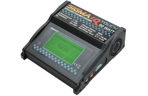 Sigma EQ Touch AC / DC LiPo Charger 90 Watt