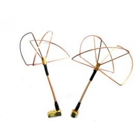 2.4Ghz Clover Leaf Antenna Set Right Handed Circular Polarization