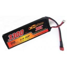Desire Power 3S LiPo Battery 3300 mAh 35C