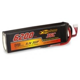 Desire Power 3S LiPo Battery 6200 mAh 35C