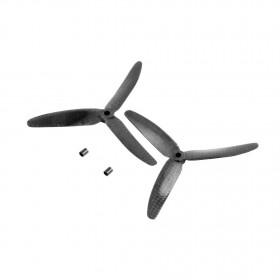 3 Blade Tri Propeller 5x3 Carbon Fiber CCW CW