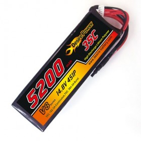 Desire Power 4S LiPo Battery 5200 mAh 35C