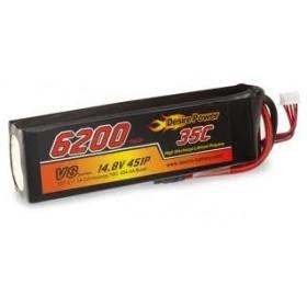 Desire Power 4S LiPo Battery 6200 mAh 35C