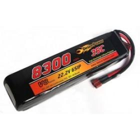 Desire Power 6S LiPo Battery 8300 mAh 35C