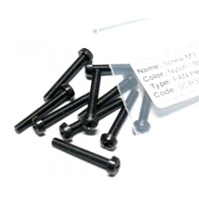 ArduCopter Screw M3 x 20mm Nylon black