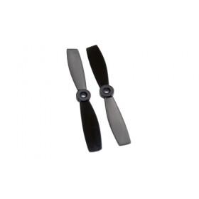Bullnose Propellers 4x4.5 Black Nylon CW CCW