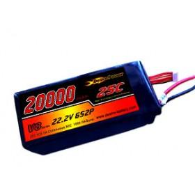 Desire Power 6S LiPo Battery 20000 mAh 25C