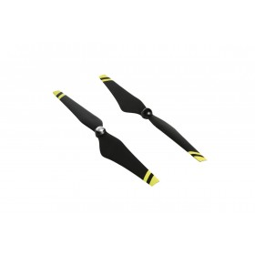 DJI E600 1242 Propeller Pair Yellow Stripe