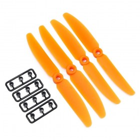 Gemfan 5x3 ABS Propeller Set of 4 Orange
