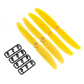 Gemfan 5x3 ABS Propeller Set of 4 Yellow