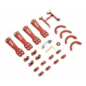 ImmersionRC Vortex 230 Red Plastic Parts Custom Pimp Kit V23CK1RD