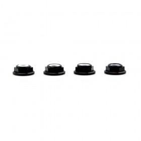 Lumenier M5 Black Aluminum Low Profile Lock Nut Set Of 4 CCW