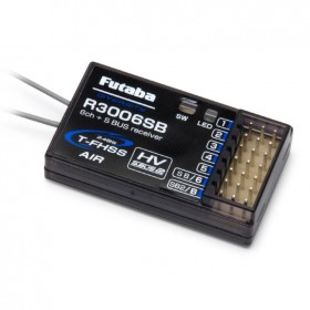 Futaba R3006SB 6 Channel 2.4GHz T-FHSS S-Bus Receiver