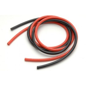 Silicone Wire 8 AWG 1M Red & Black