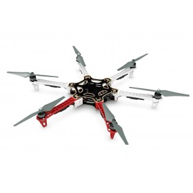 DJI F550 Flame Wheel E305 Kit ARF V2 + DJI Naza M V2 GPS + Landing Legs